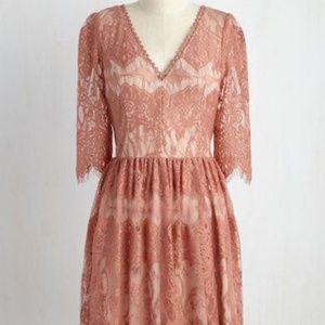 Modcloth Anticipating Adoration Dress
